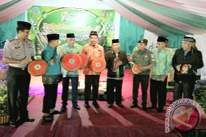 Bupati Buka Festival Seni Qasidah Ke-4 Tingkat Kabupaten Lamandau
