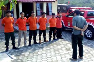 Tim Karlahut Barito Utara Cek Lokasi Titik Api