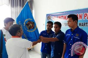 Pengurus PWI Lamandau Periode 2016-2019 Dilantik di Palangka Raya