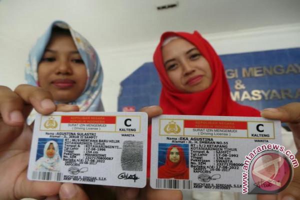 Satlantas Kotawaringin Timur Kembali Distribusikan SIM