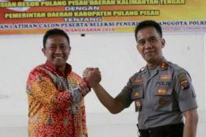 Pemkab-Polres Pulang Pisau Kerjasama Lahirkan Anggota Polri Putra Daerah