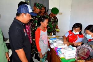 Bakti Sosial TNI Disambut Antusias Masyarakat Sampit