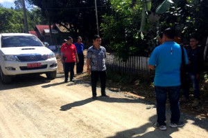 Bupati Bartim Tinjau Pembangunan di Kecamatan Patangkep Tutui