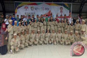 Kirab Pemuda Nusantara Berbagi Pengalaman di Sampit