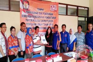 Partai Nasdem Daftar ke KPU Barito Utara