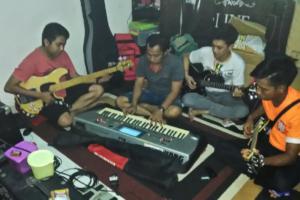 Group Band Barsel Ikuti Festival Tabalong Expo