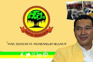"""Partai """"Tommy Soeharto"""" Berkarya Daftar ke KPU"""