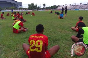 Persiapan 8 Besar, Fisik Pemain Kalteng Putra FC Digenjot