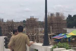 Bupati Barut Harapkan Jembatan Selesai Tepat Waktu