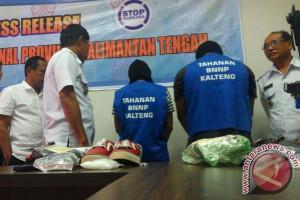 Akhirnya! BNNP Kalteng Akui Ada Penangkapan Oknum Polisi dan PNS TNI