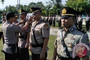Kapolres Palangka Raya Pimpin Sertijab Kasat Binmas dan 2 Kapolsek