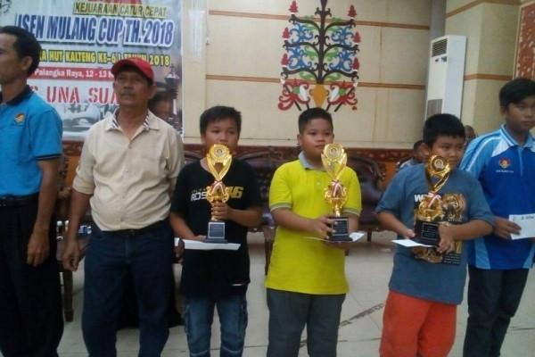 Atlet junior Kotim juara II catur cepat Kalteng