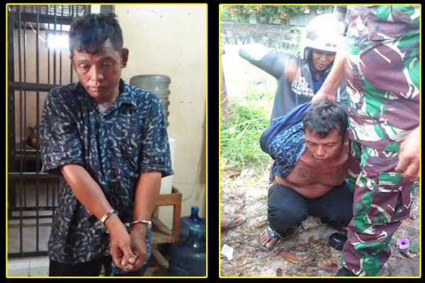 Apes, seorang pencuri di Palangka Raya babak belur dihajar massa