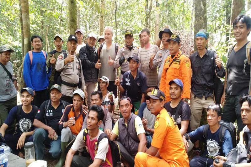 Dua turis mancanegara tersesat di Tanjung Puting berhasil ditemukan