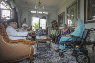 Maruf Amin jelaskan tujuan kunjungan ke keluarga Gus Dur