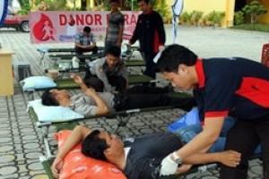 Tribun Batam Gelar Donor Darah di Karimun