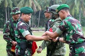 Kas Kostrad Tutup Latihan PPRC di Natuna