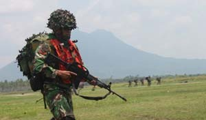 PPRC Konsolidasikan Latihan Serangan Darat Gabungan