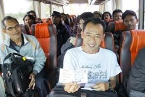Penumpang Tujuan Pulau Jawa Diinapkan di Batam