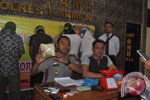 Kepolisian Karimun Tangkap Pengedar Sabu Rp1,3 Miliar