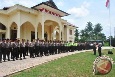 120 Polisi Amankan Penetapan Nomor Urut Cabup Natuna