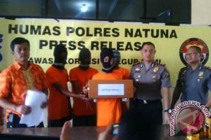 Empat Remaja Natuna Diduga Curi Kotak Amal