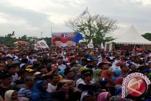Ribuan Warga Hadiri Kampanye Akbar Ramah