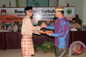 KPU Tetapkan Awe-Nizar Pemenang Pilkada Lingga