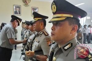 Kapolda Kepri Pimpin Sertijab Empat Pejabat Utama