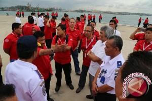Petinggi Pelindo Kunjungi Sejumlah Pelabuhan Batam