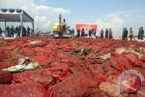 BC Kepri Musnahkan Barang Tangkapan Rp10 Miliar