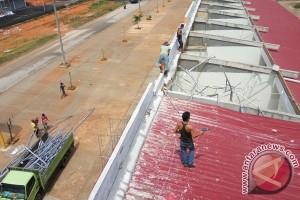 Puting Beliung Rusak Sejumlah Bangunan di Batam