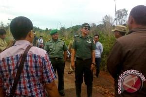 TNI Mulai Cetak Sawah di Lingga