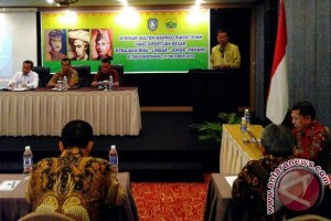 Pemkab Lingga Seminar Usul Sultan Mahmud Pahlawan