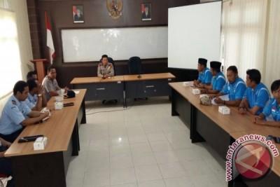 Polres Lingga Rangkul KNPI Antisipasi Demo 212