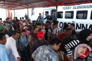 Penumpang Kapal Tanjungpinang Naik 20 Persen