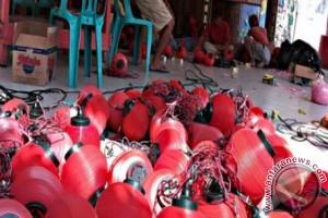 Kota Lama Tanjungpinang Memerah Jelang Imlek