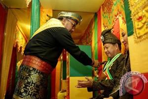 Kapolri Diberi Gelar Datuk Perdana Satria Wangsa