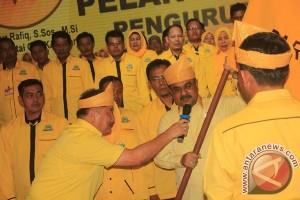 Bupati Aunur Rafiq Resmi Pimpin Golkar Karimun