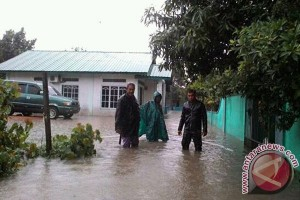 Beberapa Kawasan di Karimun Kebanjiran