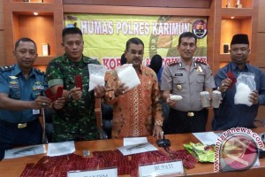Bupati Karimun Apresiasi Pengungkapan Beberapa Kasus Narkoba