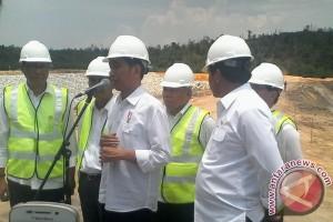 Presiden Tinjau Waduk Sei Gong