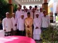 Anggota DPRD Dapil Meral-Tebing Rodiansyah usai menggelar pertemuan dengan warga. (foto: Setwan DPRD Karimun)