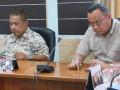 Anggota Komisi III Isnuriman, dan Adi Hermawan. (foto: Setwan DPRD Karimun)