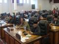 Suasana rapat perubahan alat kelengkapan dewan DPRD Karimun. (foto: Setwan DPRD Karimun)