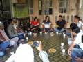 Anggota DPRD Dapil Meral-Tebing M Yusuf Sirat, menggelar pertemuan dengan warga. (foto: Setwan DPRD Karimun)