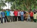 Anggota DPRD Karimun dapil Kundur, Marjaya usai menggelar pertemuan dengan warga. (foto: Setwan DPRD Karimun)