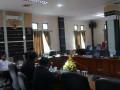 Sejumlah anggota DPRD Karimun, Kepulauan Riau mengikuti rapat Badan Musyawarah (Bamus). Bamus merupakan salah satu alat kelengkapan dewan yang bertugas menyusun agenda rapat paripurna, rapat dengar pendapat serta menyusun jadwal kegiatan lain secara kelembagaan.