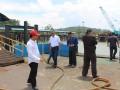 Ketua Komisi 3 Rasno dan beberapa anggota menggelar inspeksi mendadak atau sidak ke PT Timah unit Prayun, Kundur.