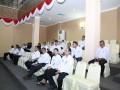 Para pejabat di lingkungan Pemprov Kepri menghadiri undangan paripurna penyampaian Rancangan Perda tentang Perubahan atas Perda tentang Retribusi Daerah dan Pajak Daerah di DPRD Kepri. (foto: Humas DPRD Kepri)